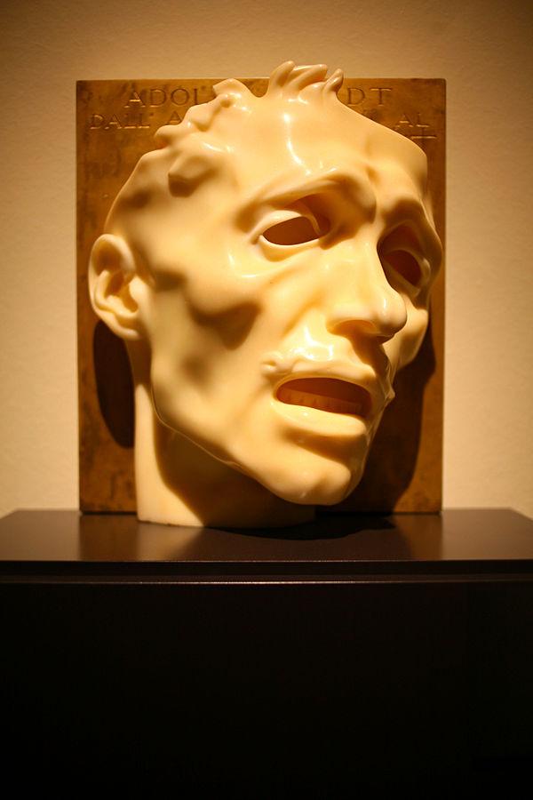 Adolfo Wildt Autoritratto Maschera del dolore 1909