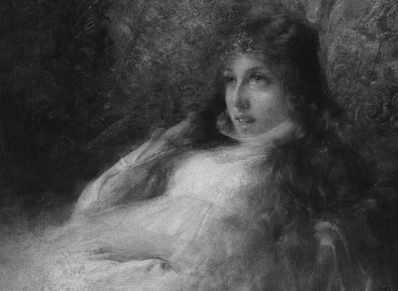 Alfredo Ricci illustrazione L'Isaotta Guttadauro di Gabriele D'Annunzio