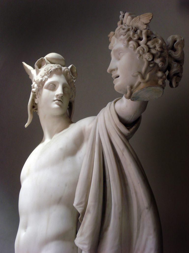 Antonio Canova Perseo con la testa di Medusa