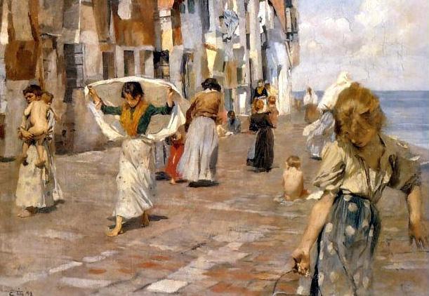 Ettore Tito Chioggia 1898