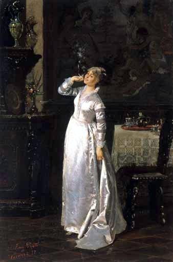 Eugenio Prati Ritratto della baronessa Giulia Turco Turcato Lazzari 1877