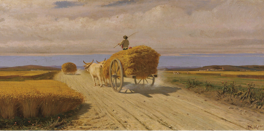 Federico Rossano Campo di grano