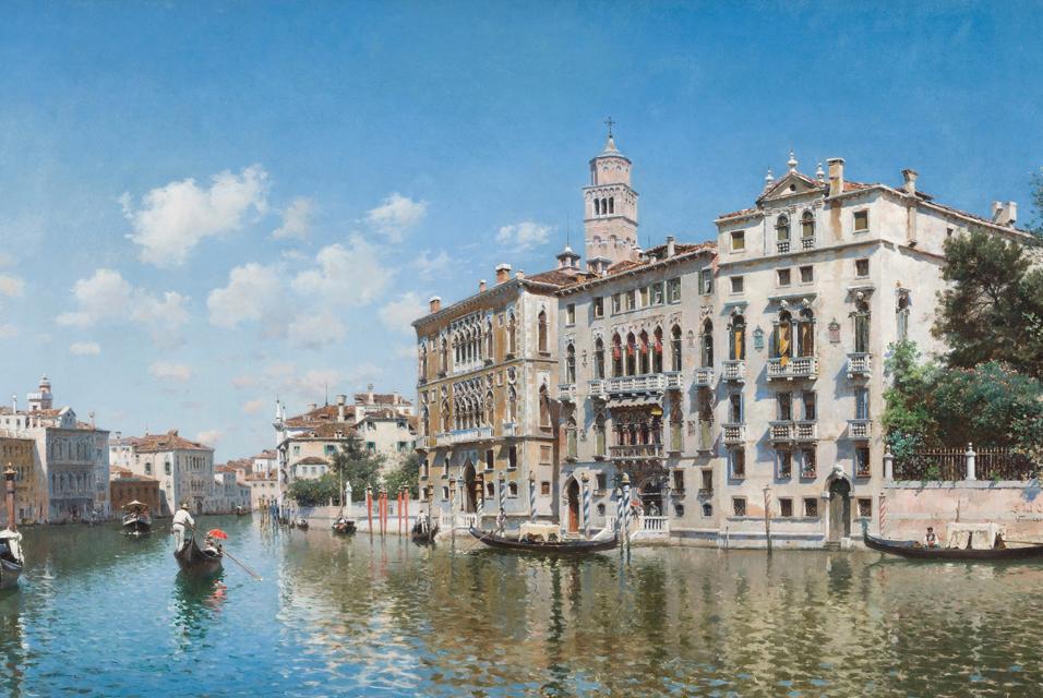 Federico del Campo Palazzo Cavalli Franchetti Venezia