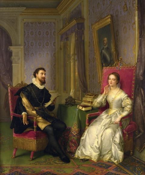 Felice Schiavoni Torquato Tasso e Leonora d'Este 1839