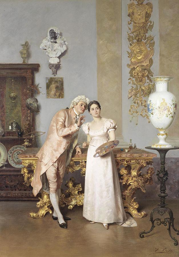 Francesco Beda Lezione d'Arte