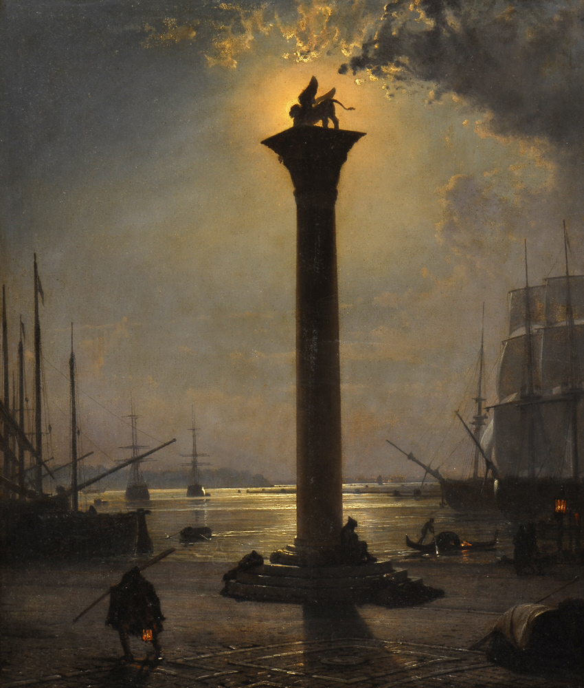 Friedrich Paul Nerly Piazetta San Marco