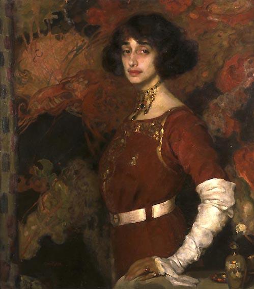 Gino Parin Ritratto di Fanny Tedeschi