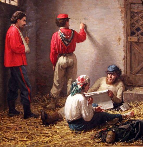 Gioacchino Toma Roma o morte 1863