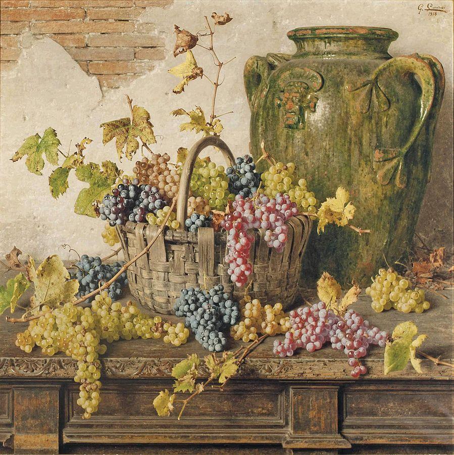 Giorgio Lucchesi Cesto di uva