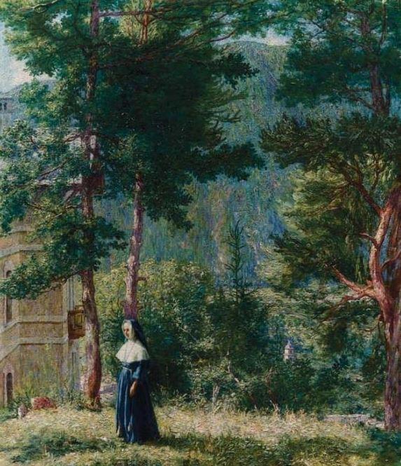 Giovan Battista Ciolina paesaggio