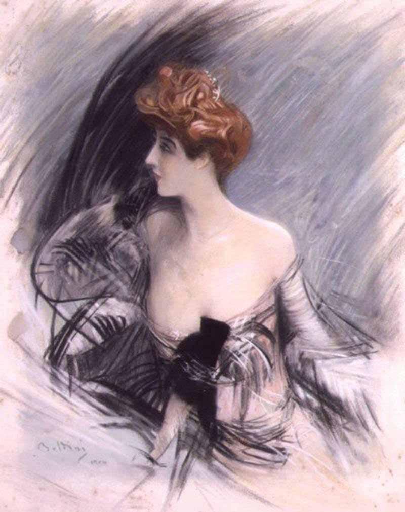 Giovanni Boldini Ritratto Sarah Bernhardt