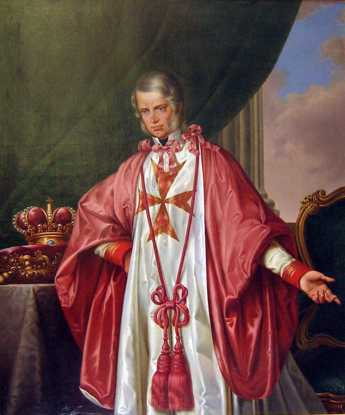 Giuseppe Bezzuoli Grand Duca Leopoldo II di Toscana
