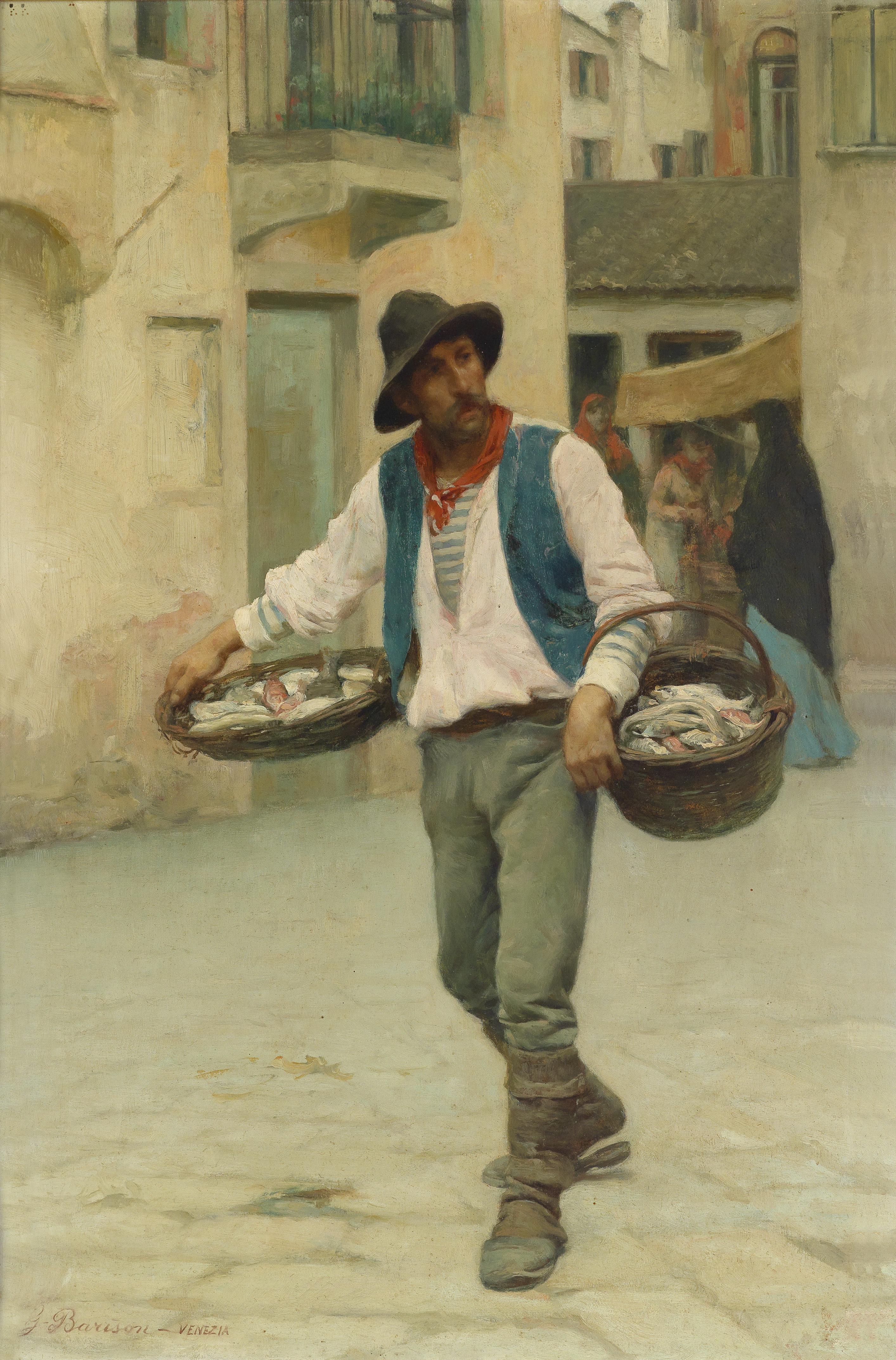 Giuseppe Barison Venditore Veneziano