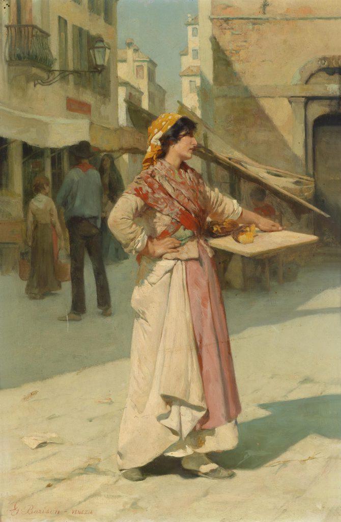 Giuseppe Barison Venditrice Veneziana