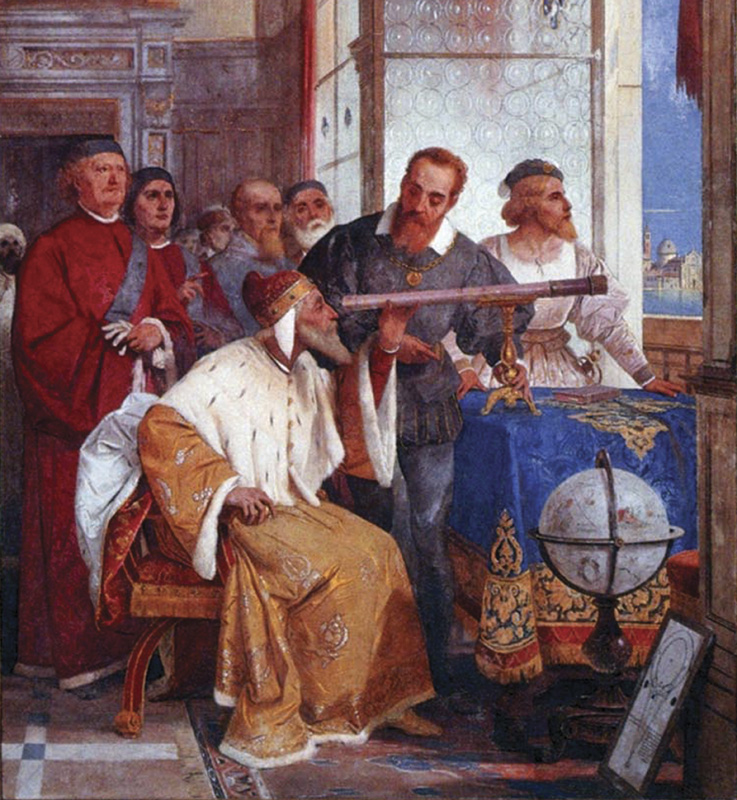 Giuseppe Bertini Galileo Galilei e il Doge di Venezia