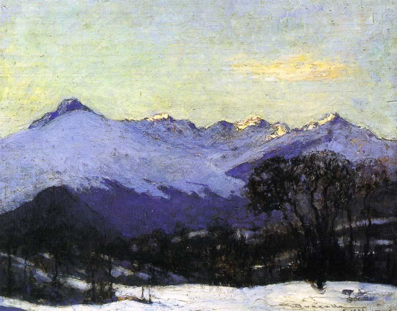 Giuseppe Bozzalla Catena dei monti Biellesi