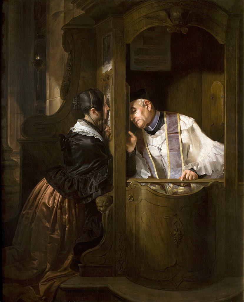 Giuseppe Molteni La confessione