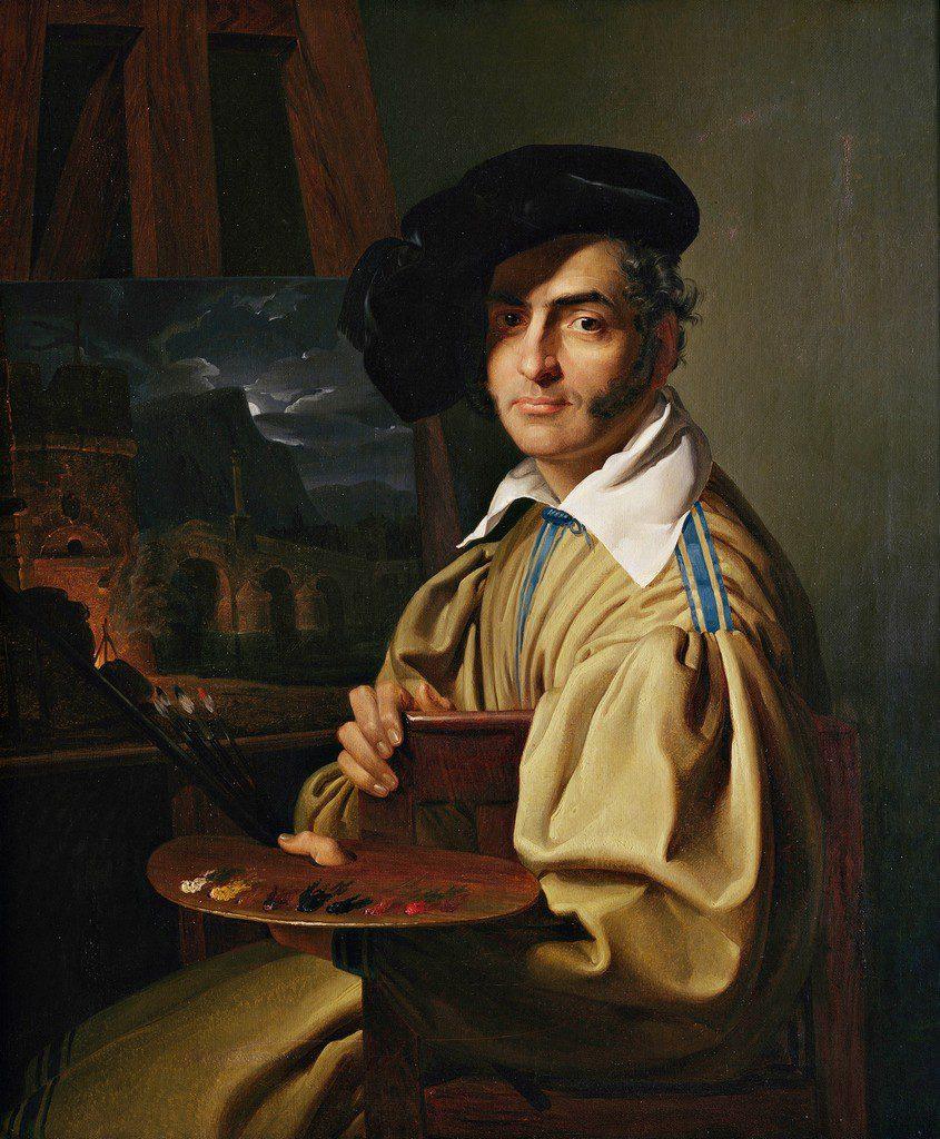 Giuseppe Molteni Ritratto di Giovanni Migliara