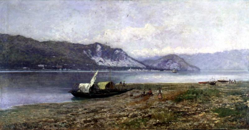 Lorenzo Gignous Veduta del Lago Maggiore