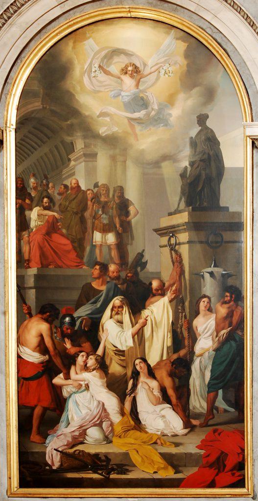Ludovico Lipparini Sante Martiri Aquileiesi