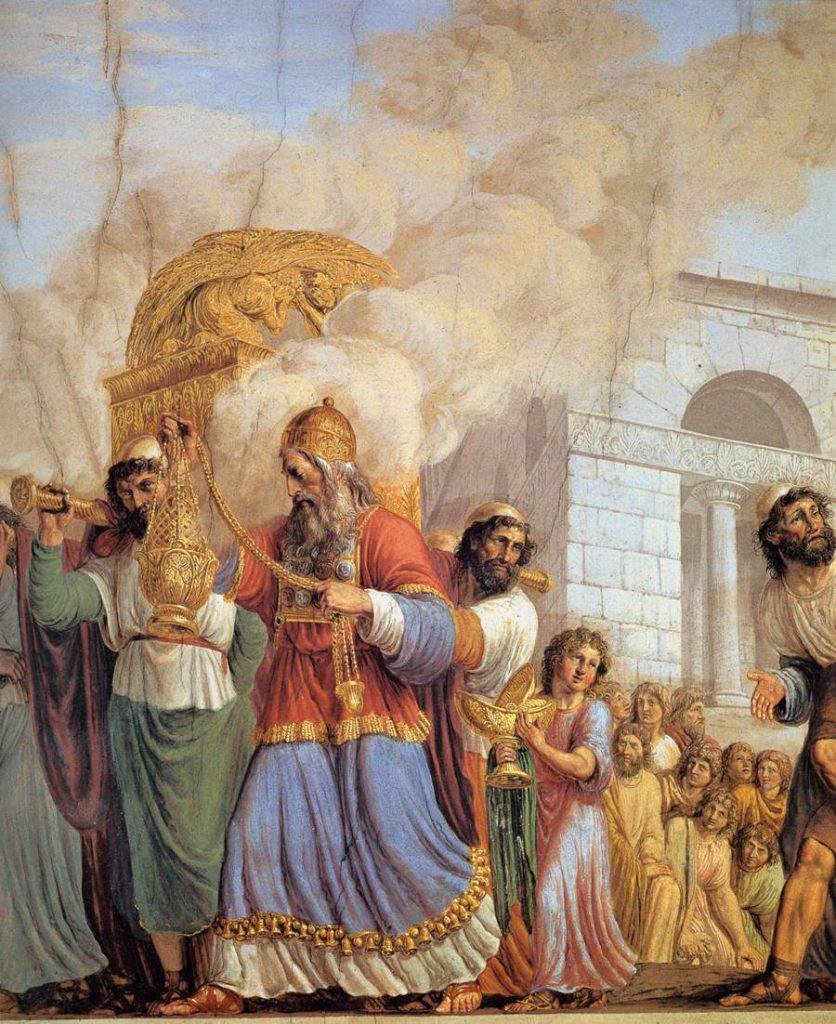 Luigi Ademollo Trasporto dell'Arca dell'Alleanza contenente le Tavole della Legge