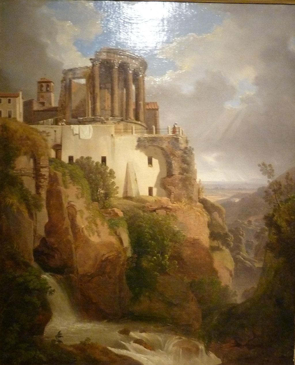 Luigi Basiletti Il Tempio delle Sibilla a Tivoli