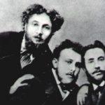 Luigi Conconi insieme a Emilio Praga e Carlo Dossi