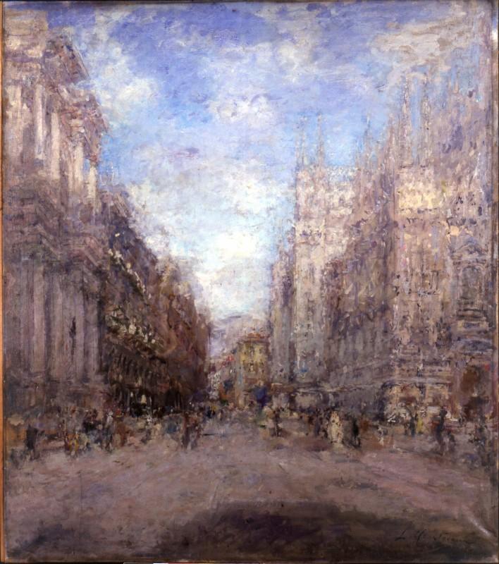 Luigi Mantovani Corso Vittorio Emanuele a Milano