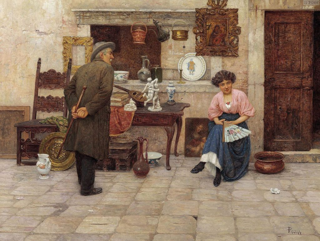 Luigi Pastega L'amante dell'arte