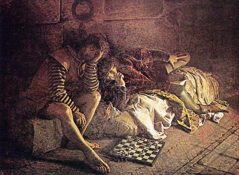 Luigi Serra L'Annibale Bentivoglio prigioniero nel castello di Varano