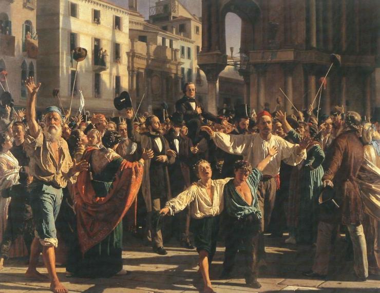 Napoleone Nani Daniele Manin Repubblica di Venezia