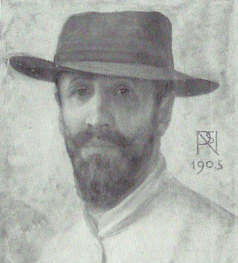 Napoleone Parisani - Autoritratto