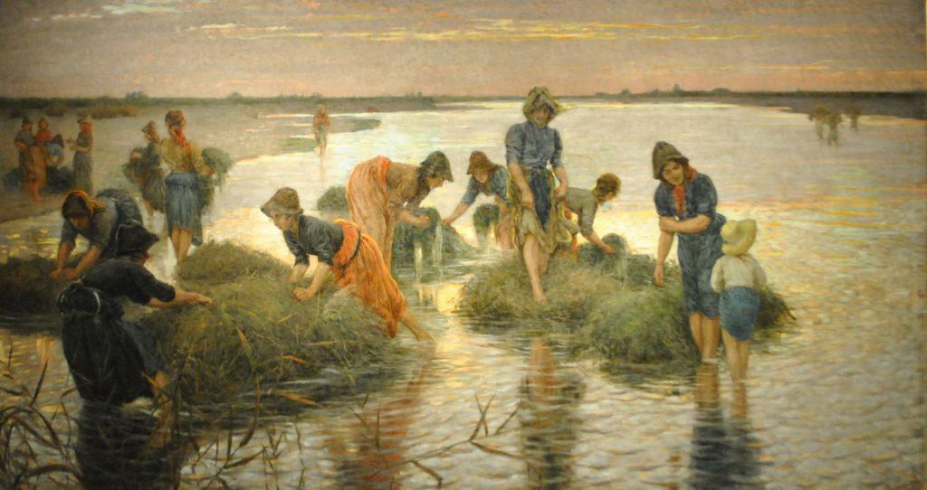 Niccolò Cannicci Le gramignaie al fiume