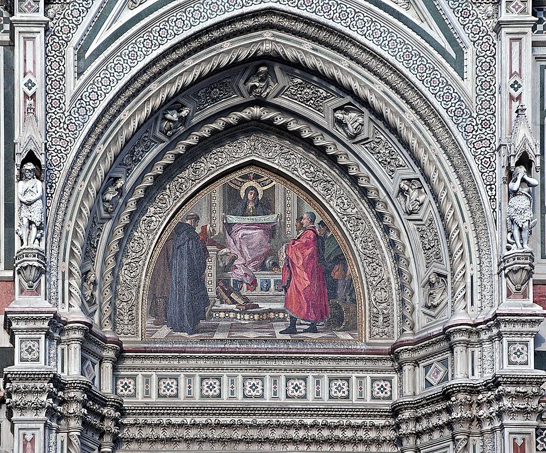 Nicolò Barabino mosaico Santa Maria del Fiore Firenze