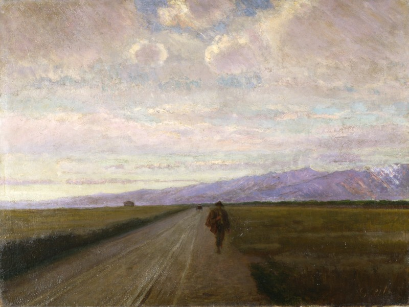 Nino Costa Strada in pianura