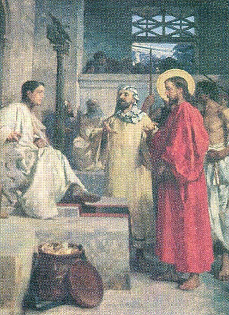 Paolo Gaidano Via Crucis Cristo condannato a morte