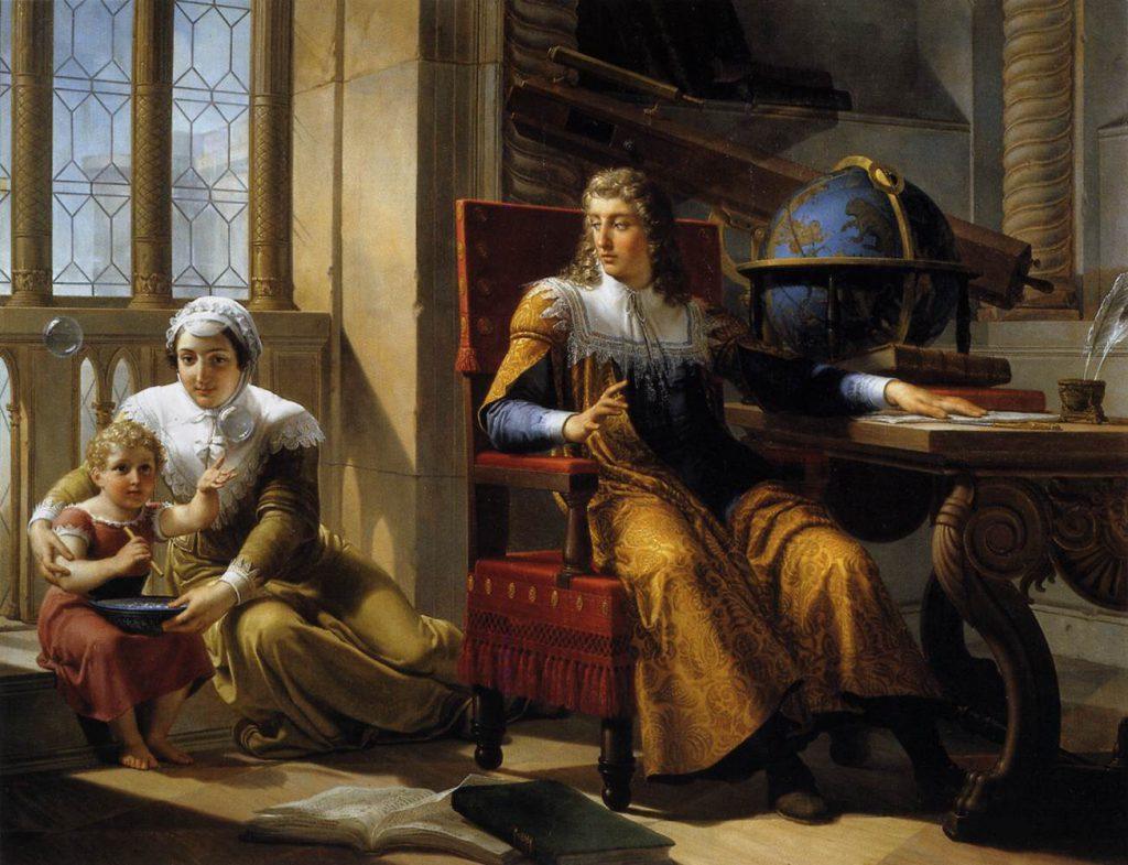 Pelagio Palagi Newton scopre la rifrazione della luce 1827
