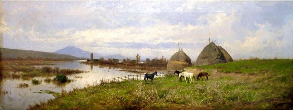 Pietro Barucci Campagna romana a Ninfa