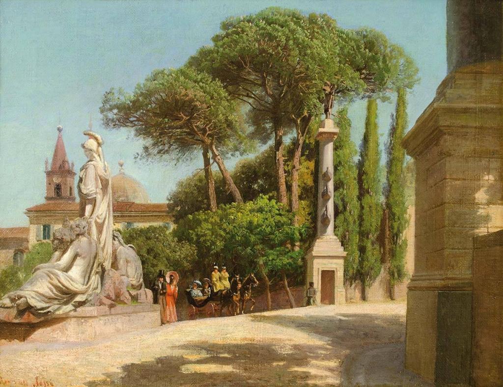 Pietro Sassi la salita del pincio