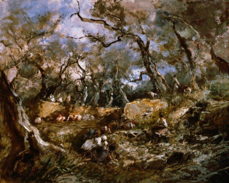 Pompeo Mariani Ulivi a Bordighera