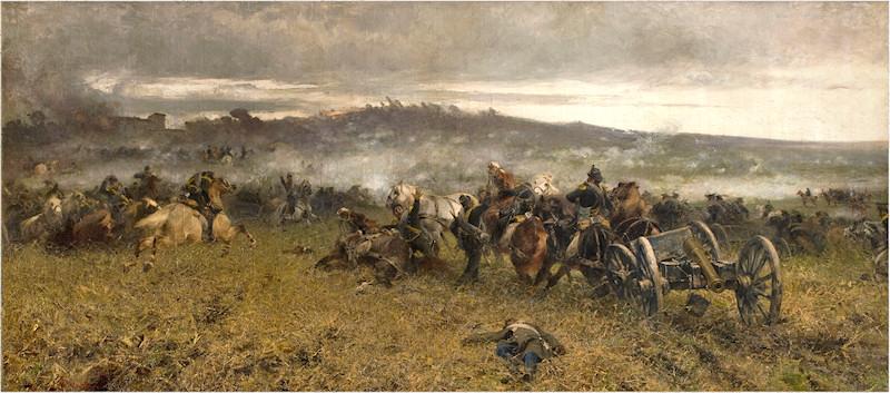 Sebastiano De Albertis La battaglia di San Martino