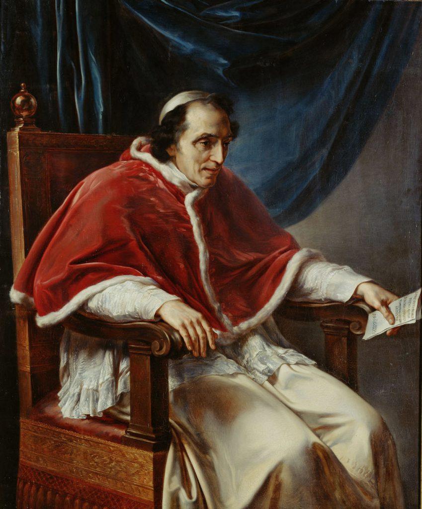 Vincenzo Camuccini Papa pio settimo