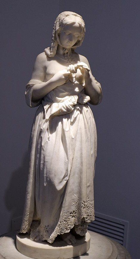 Alfonso balzico la margherita di goethe 1860