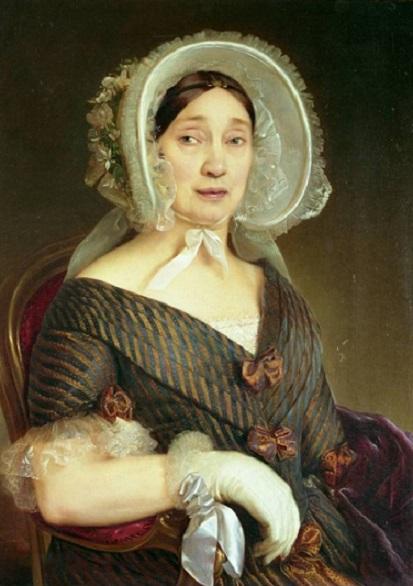 Clemete Alberi ritratto della Contessa Ersilia Turrini Rossi Marsili