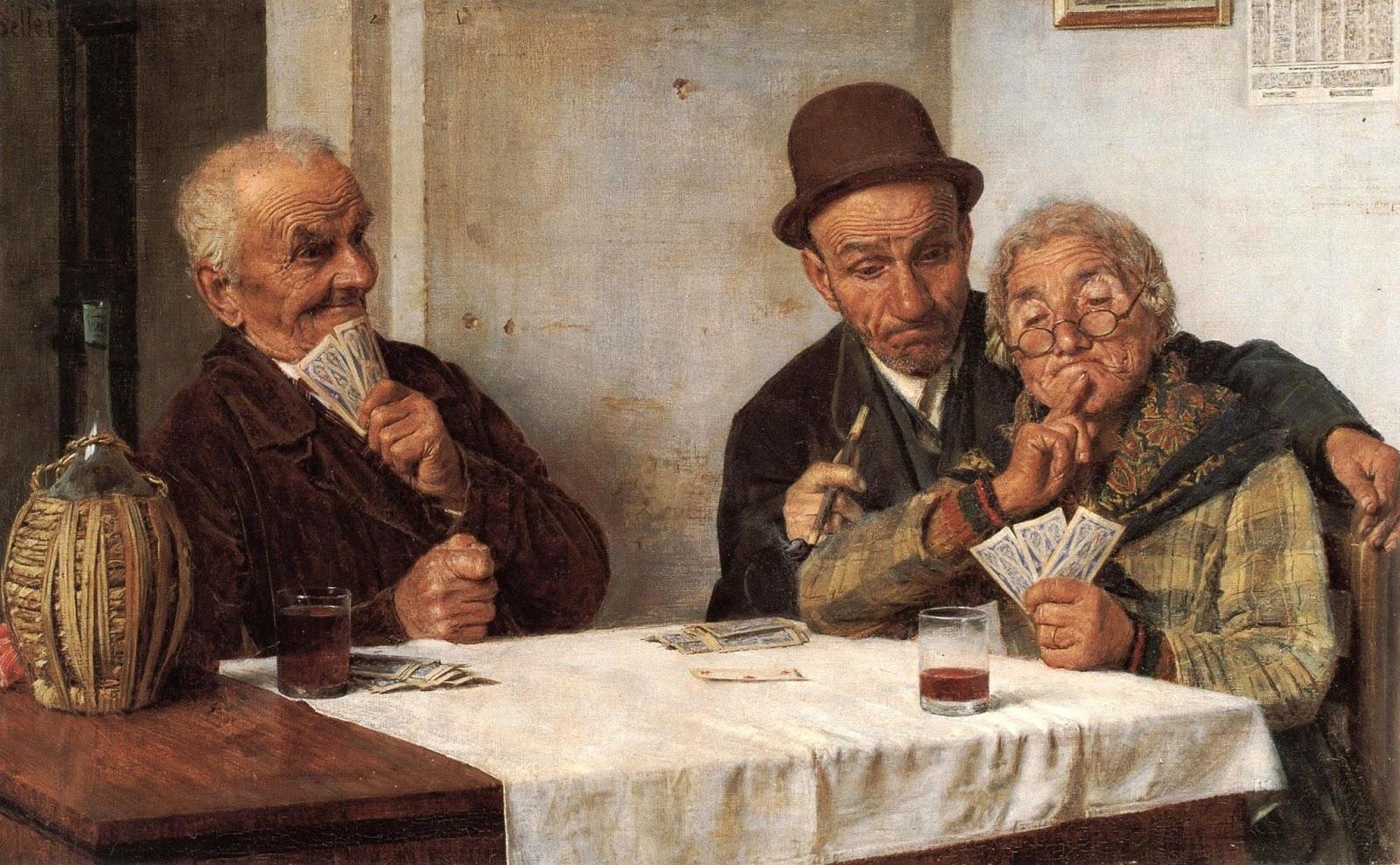 Gaetano Bellei Gioco di Carte