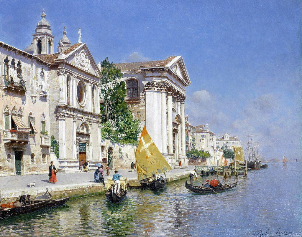 Rubens Santoro La zattera e la chiesa dei gesuiti