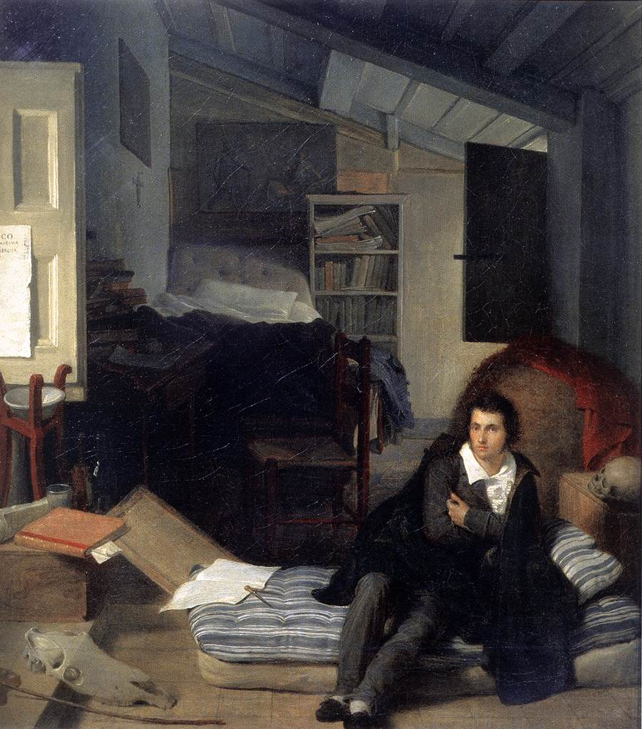 Tommaso Minardi Autoritratto