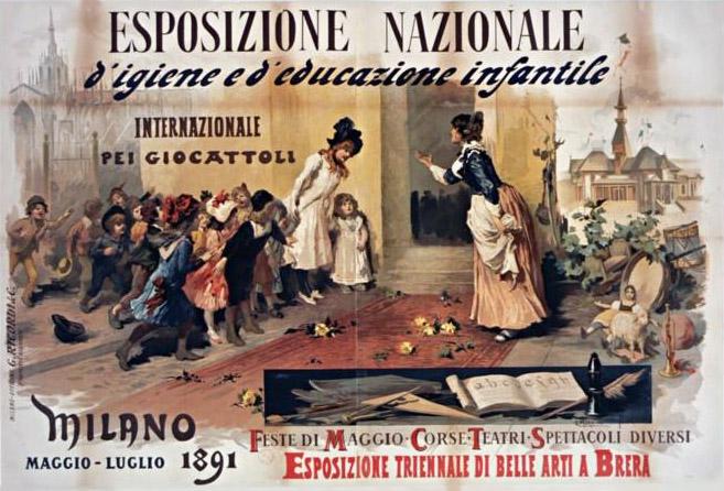 Vespasiano Bignami Esposizione triennale di belle arti a Brera