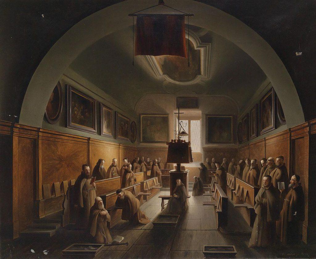 Vincenzo Abbati Monaci certosini a Padova