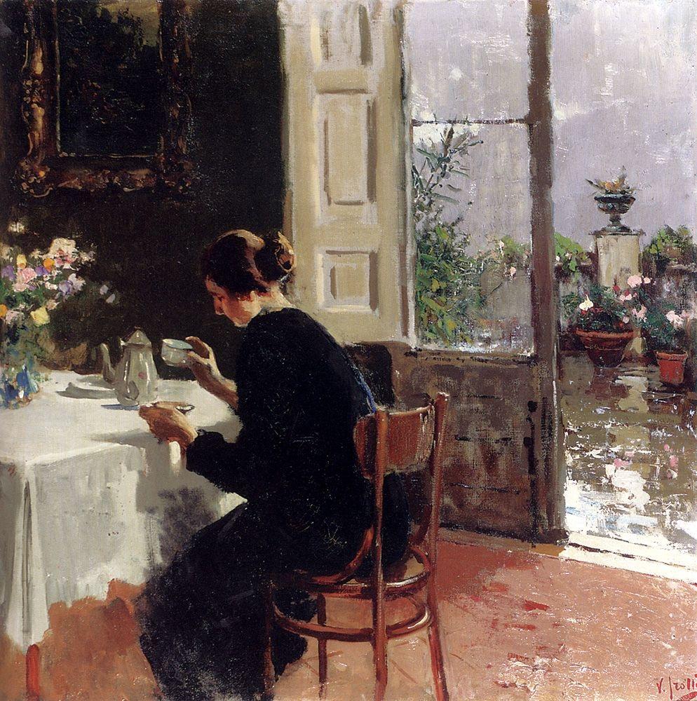 Vincenzo Irolli Alla finestra